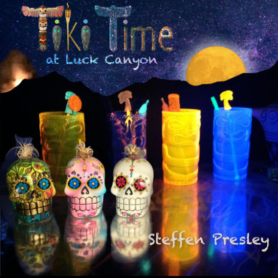 Tiki Time at Luck Canyon CD Cover